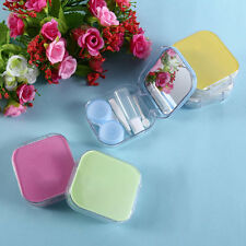Creative Storage Contact Lens Case Box Holder Container Contact Lenses Box UU