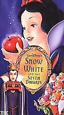 Snow White and the Seven Dwarves NEW and SEALED VHS tape clamshell Platinum Ed.