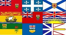 """Large High Quality Canada Provinces Flag Banner 3'X5' -Indoor/Outdoor- 36""""X60"""""""
