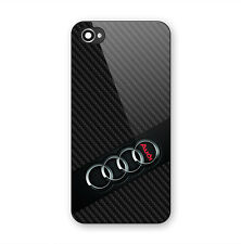 New Audi R8 Logo Cars Print On Hard Plastic Case For iPhone 5 5s 6 6s 7 (Plus)