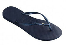 Havaianas Slim Crystal Glamour SW Womens Flip Flop - Navy