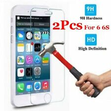 """2Pcs Genuine Tempered Glass Films for Apple iPhone 6 6S 4.7"""" Screen LN"""