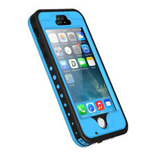 Fingerprint Swimming Waterproof Shockproof Snow proof Cover Case For iPhone 5 5s