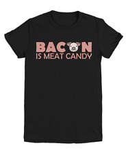 Bacon Is Meat Candy Funny Food T-Shirt - Youth Tee