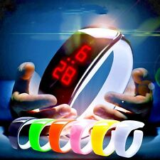 LED Digital Wrist Watch Men Women Unisex Kids For School Boys Girls