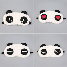 Cute Panda Sleeping Face Eye Mask Blindfold Shade Traveling Sleep Eye Aid SX