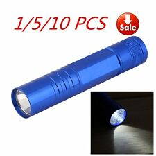 1/5/10X Waterproof LED Flashlight Lamp Torch Light For Outdoor Camping 1W AU