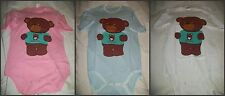 Adult Baby Blue Onesie Snap Crotch ABDL private Diaper TEDDYCON NEW PATTERNS