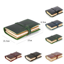 Vintage writing Journal Notebook Leather Handmade Blank Paper Travel Diary