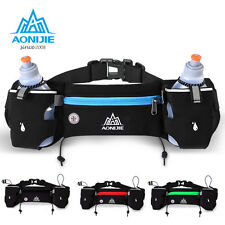 Sport Running Cycling Marathon Gym Belt Water Bottle Phone Keys Holder Waist Bag