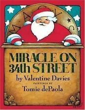 Miracle on 34th Street by Valentine Davies c2004, VGC Hardcover