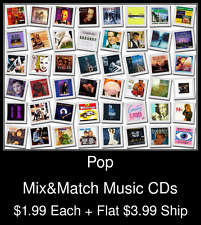 Pop(1) - Mix&Match Music CDs @ $1.99/ea + $3.99 flat ship