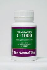 NEW FORMULATION C-1000 Supplements Diet Vitamin Natural Way