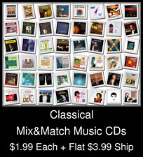 Classical(4) - Mix&Match Music CDs @ $1.99/ea + $3.99 flat ship