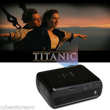 Excelvan EHD01 Multimedia LED Projector 800x480 1200 Lumens Home Theater