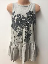 Ex NEXT GIRLS GREY DRESS FOR SUMMER AGE 5 6 7 8 10 11 YEARS OLD