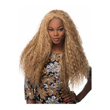 Fashion Long Curly Wig For Black Women afro Blonde Hair curly Long wavy Wig New