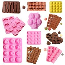 Lollipop Mold Silicone Chocolate Mold Cake Decorating Candy Soap Baking Mould