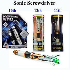 Doctor Who10th/11th/12th Sonic Screwdriver Official Light&Sounds Cospaly ToyProp