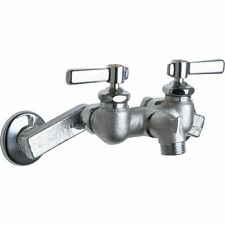 Chicago Faucets 305-RCF Wall Mounted Service Faucet with Adjustable Centers