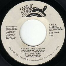 """Instant Funk-I Got My Mind Made Up (You Can Get It Girl) 7"""" 45-Salsoul Records,"""