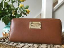 LOVELY GENUINE LEATHER TAN BROWN MICHAEL KORS WALLET PURSE