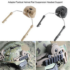 2pcs Tactical Suspension Headset Support Tool For FAST Peltor Comtac Adapter BT