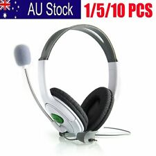 Live Big Headset Headphone With Microphone for XBOX 360 Xbox360 Slim NEW LOT AUU