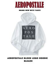 NEW MENS AERO AEROPOSTALE NYC CIRLE BIG NY BLOCK LOGO PULLOVER HOODIE SWEATER