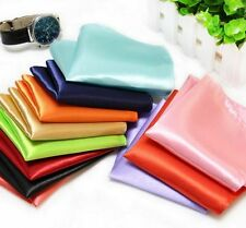 Hot Sale Mens Silk Square Satin Hanky Handkerchief Party Dinner Pocket Woven