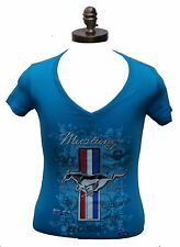 MUSTANG LADIES MULTI LOGO SHIRT SOLD EXCLUSIVELY HERE IN LADIES AND WOMANS SIZES