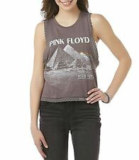 Pink Floyd T-Shirt Dark Side of the Moon Tour rock Girls Tank Tee XS S M L NWT