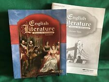 ABEKA ENGLISH LITERATURE - 4TH EDITION - & STUDENT QUIZZES/TESTS/ HOMESCHOOL