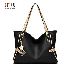 New Faux Leather High Quality Shoulder Bag Tote Handbag Women Free Shipping