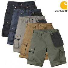 Carhartt Men's Cargo Pants Cargo Shorts EMEA Multipocket Ripstop Shorts Workout