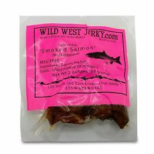 Wild Caught King Smoked Salmon Squaw Candy Savory Deliciousness 2 OZ Jerky