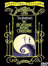 The Nightmare Before Christmas (DVD, 2000, Special Edition) GREAT SHAPE