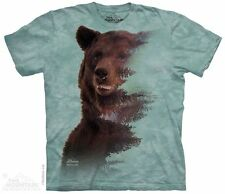 Brown Bear Forest T-Shirt from The Mountain - Adult S - 5X