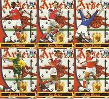 Merlin Premier League Collector Football Cards 1994 Complete Team Base Sets RARE