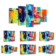 Canvas Picture 30 Shapes Print Abstraction design graphics 3131 UK