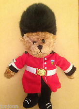 HARRODS GUARDSMAN BEAN TOY OR GUARDSMAN BEAR TOWER OF LONDON. BRAND NEW INC TAGS