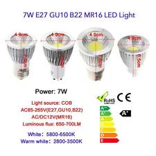 GU10 9W COB LED Spot Light Lamp Bulb High Power Energy Saving 85-265V US D8F4