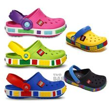 UK Stock Cros Style Girl Boy Kids Crocband Clogs Beach Shoe Limited Edition Gift
