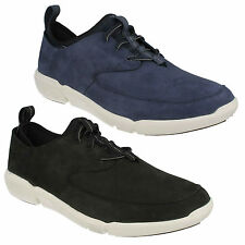 TRIFLOW FORM MENS CLARKS NUBUCK CASUAL LACE UP SHOES WALKING SPORTS TRAINERS