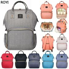 Top Multifunctional Baby Diaper Nappy Backpack Waterproof Large Changing Bag