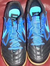 Mens shoes soccer Nike Gato indoor Futsal 441715 black blue new Youth 6 Women 8