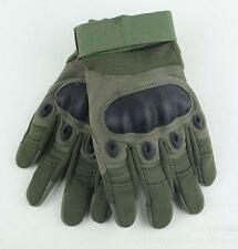 Army Tactical Antiskid Workout Gloves Military Blackhawk Green Black M L XL