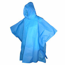 New Totes Kids' Hooded Pullover Rain Poncho with Snaps