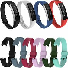 Silicone Band Wrist Strap Bracelet for Fitbit Alta HR Sport Tracker Soft Replace