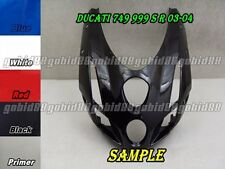 Injection molding Front Head Upper Top Fairing for Ducati 749 999 S R 03-04 88#G